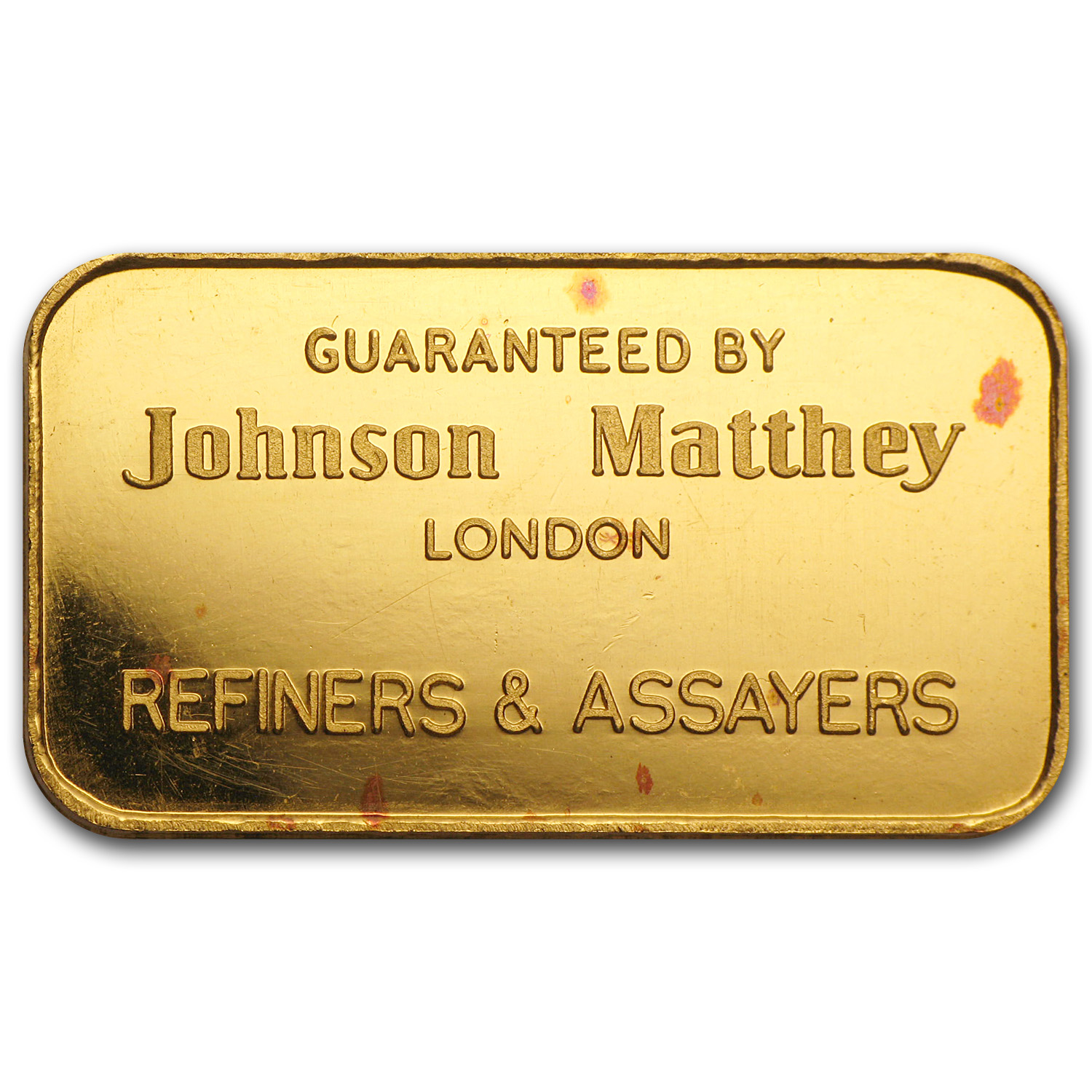 1 oz Gold Bars - Johnson Matthey (RNB, London)