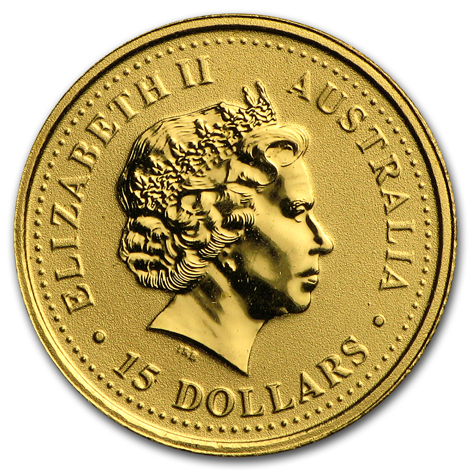 2000 1/10 oz Australian Gold Nugget