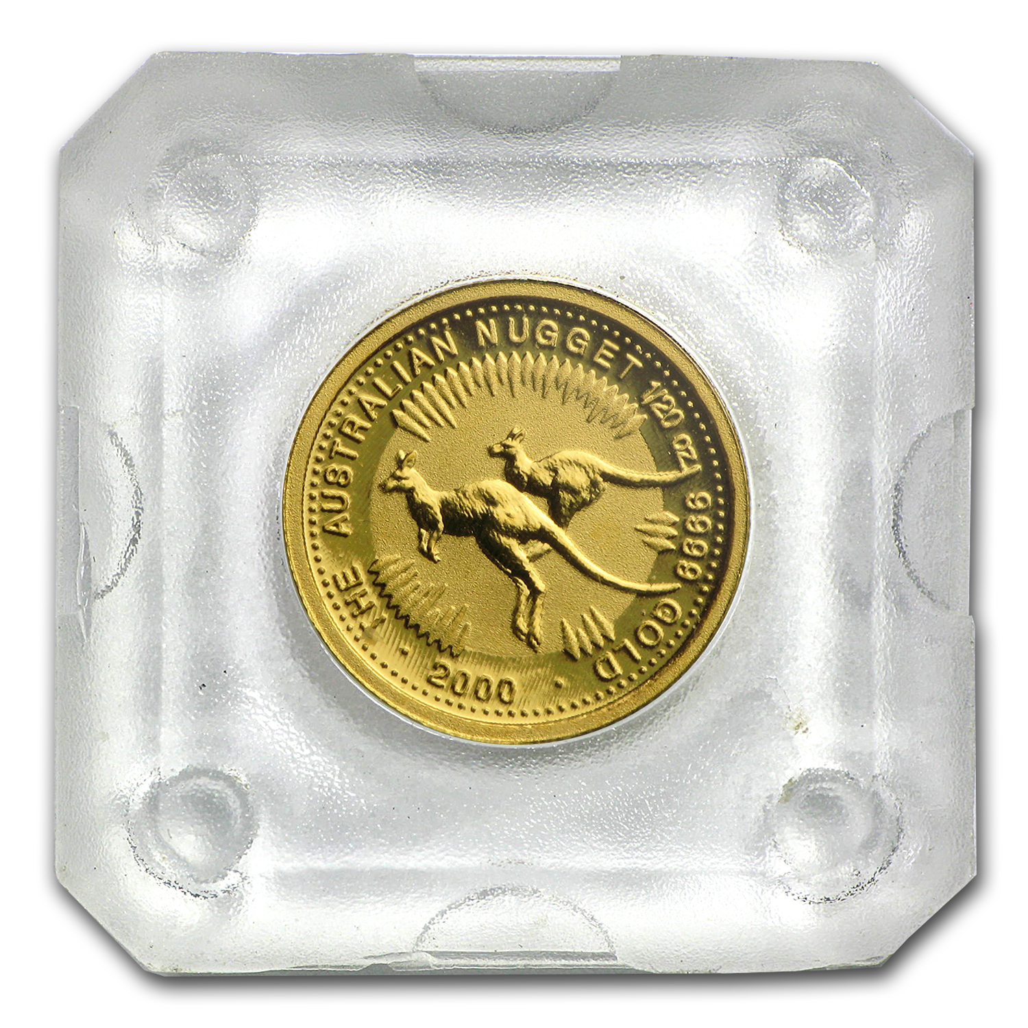 2000 Australia 1/20 oz Gold Nugget