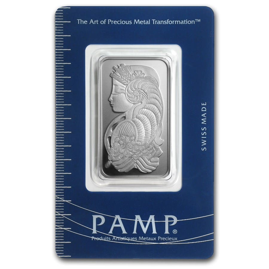 20 gram Silver Bar - PAMP Suisse (Fortuna, In Assay)