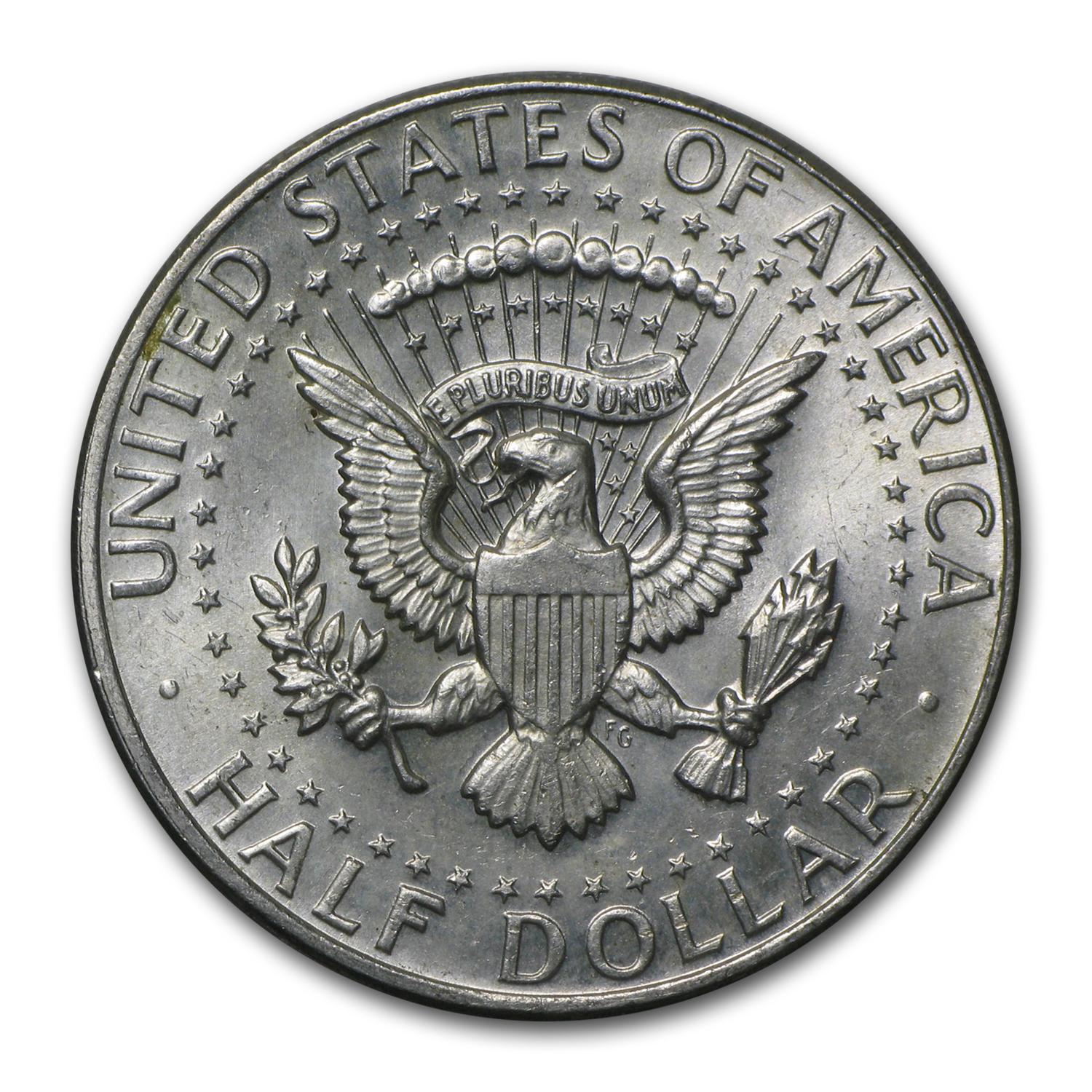 $1 Face Value 1964 Kennedy Half-Dollars - 90% Silver (Avg. Circ.)