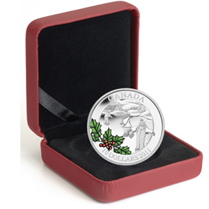 2011 Canada 1/2 oz Silver $10 Little Skaters (w/Box & COA)