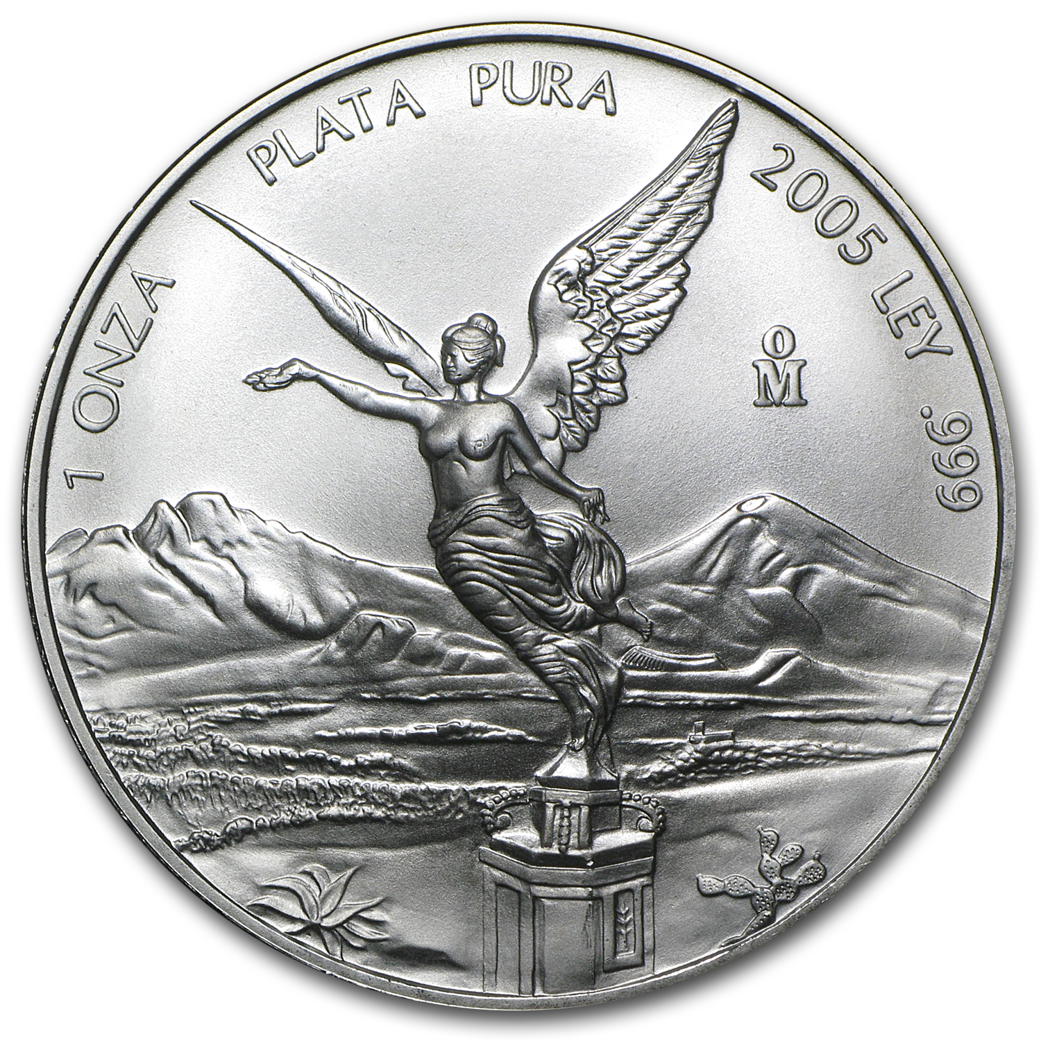 2005 1 oz Silver Mexican Libertad (Brilliant Uncirculated)