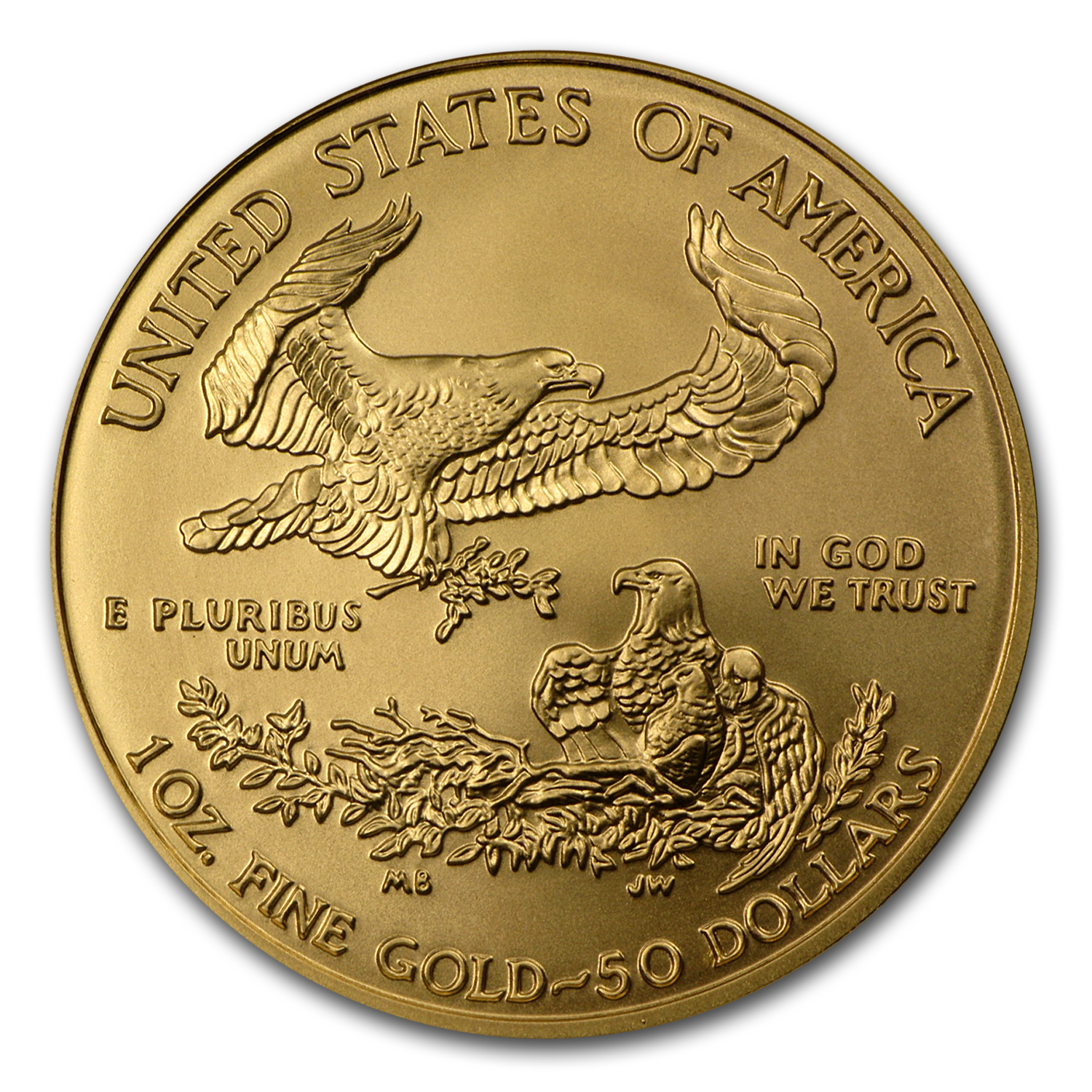 2008-W 1 oz Burnished Gold Eagle MS-70 NGC