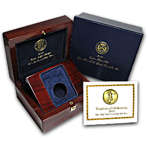 Ultra High Relief Box & CoA w/Custom Insert to Hold Slab