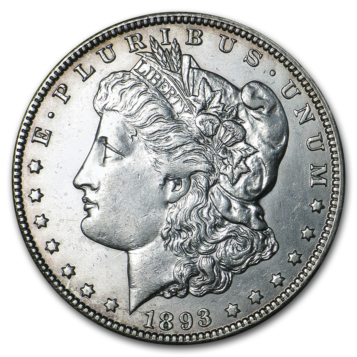 1893-O Morgan Dollar BU