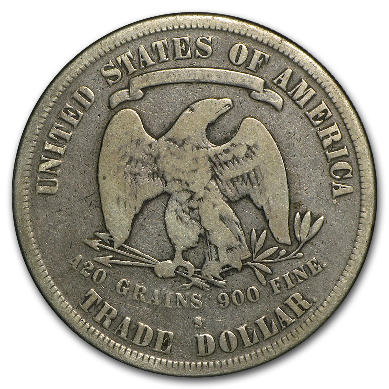 1873-1878 Trade Dollar Very Good