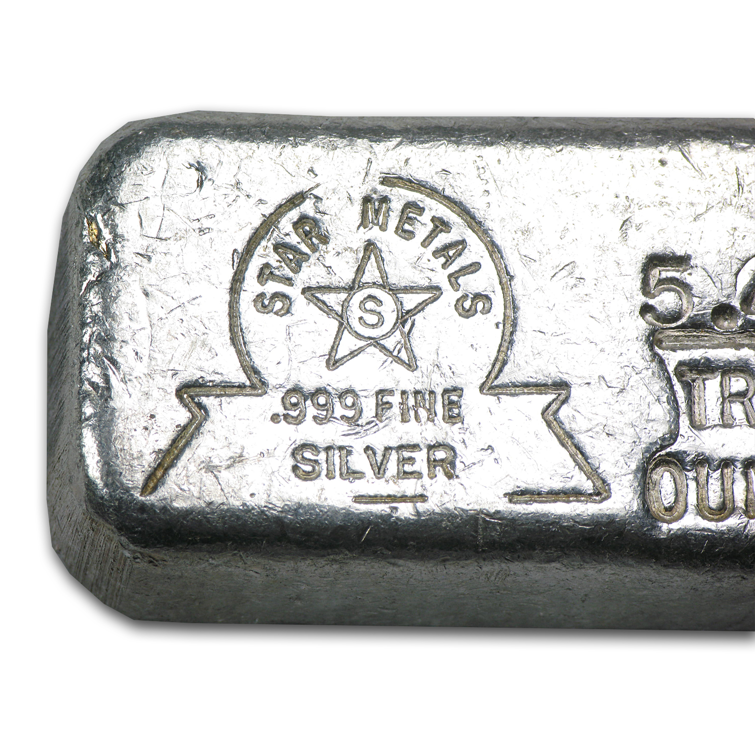 5.45 oz Silver Bar - Star Metals