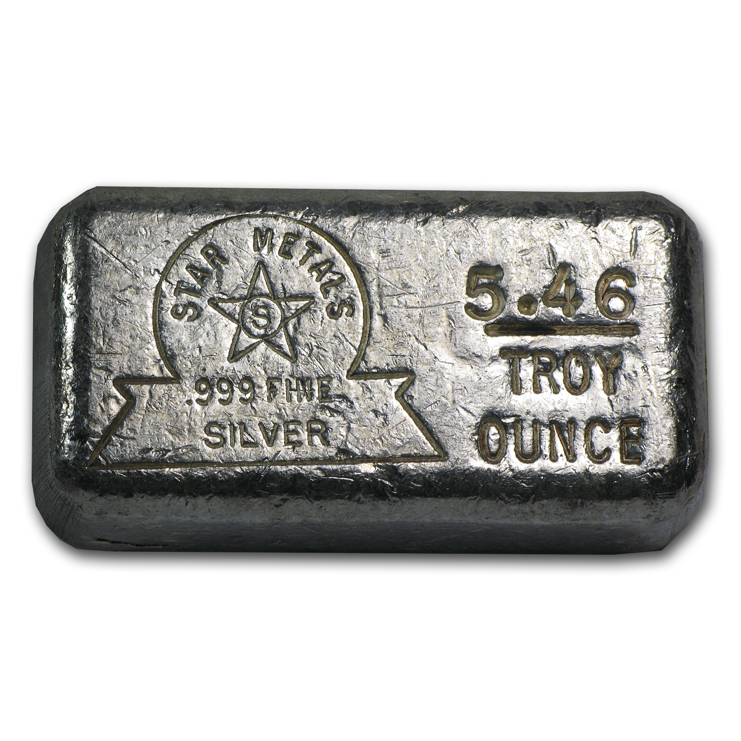 5.46 oz Silver Bar - Star Metals