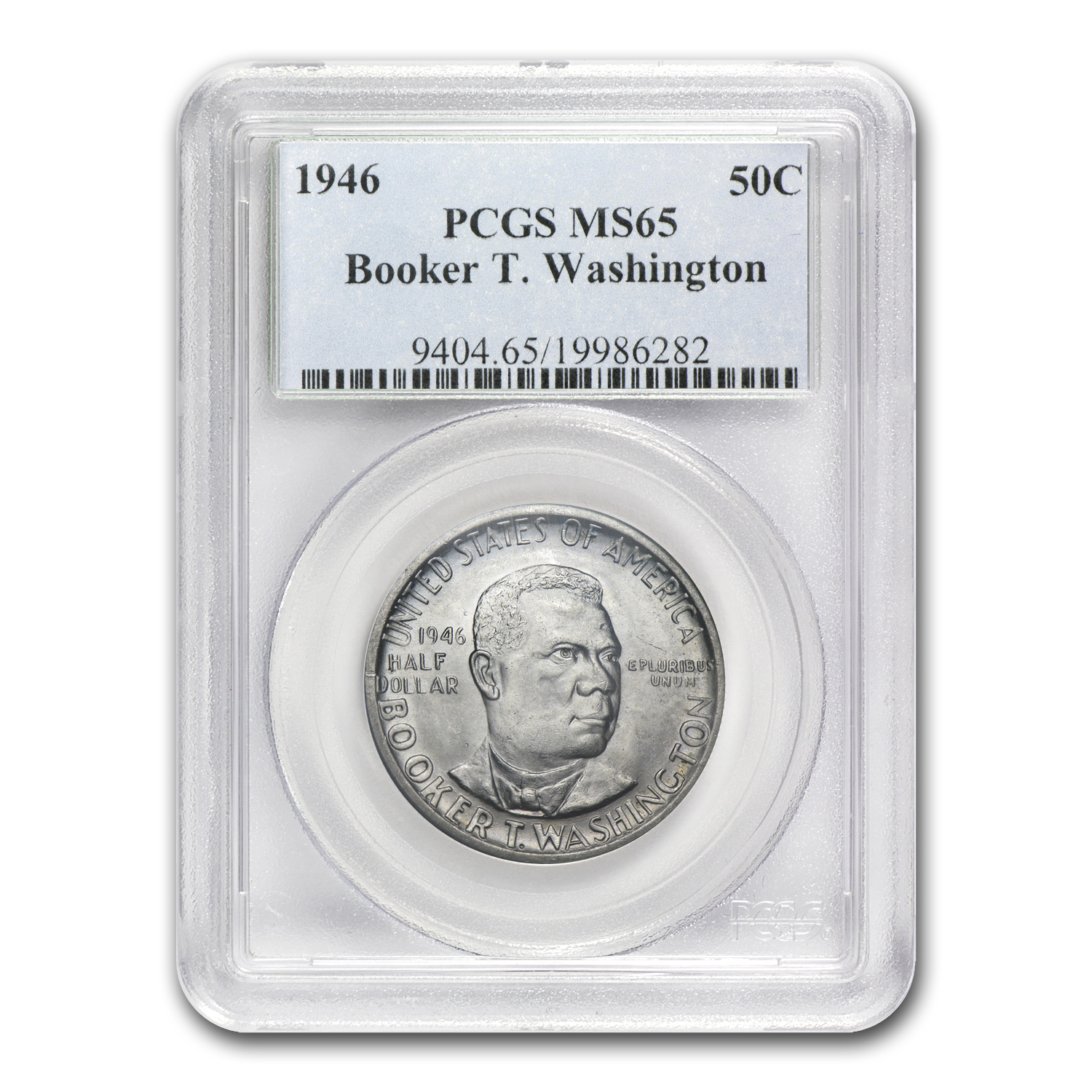 1946 Booker T. Washington Half MS-65 PCGS
