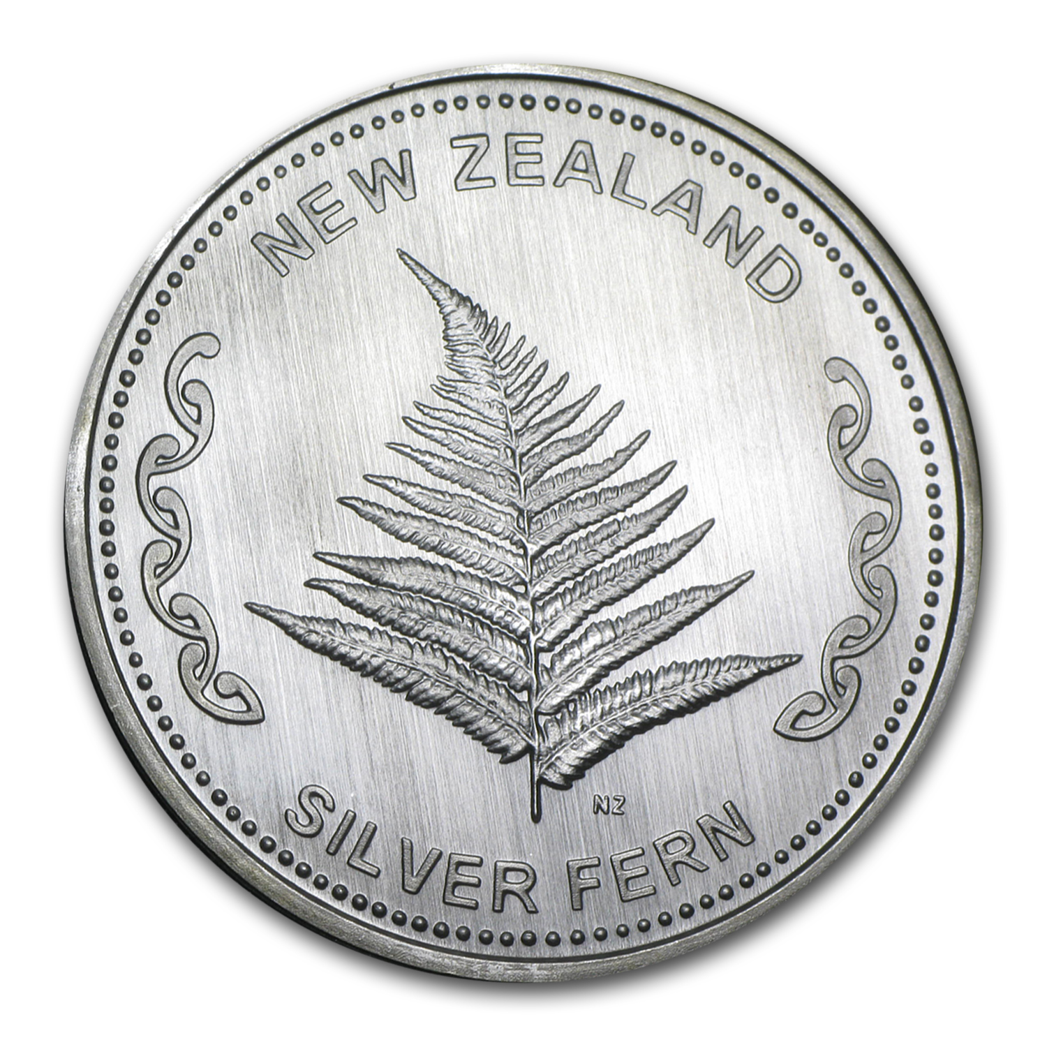 1 oz Silver Round - New Zealand Silver Fern