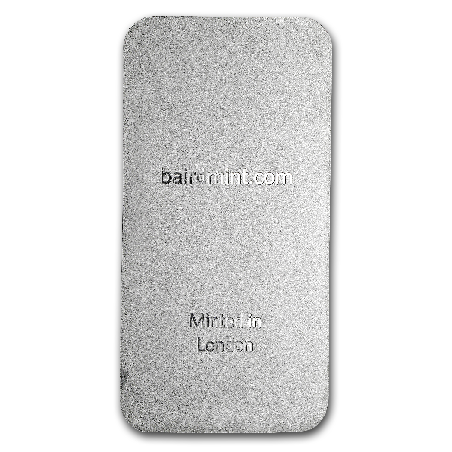 5 oz Platinum Bar - Baird & Co. (.9995 Fine)