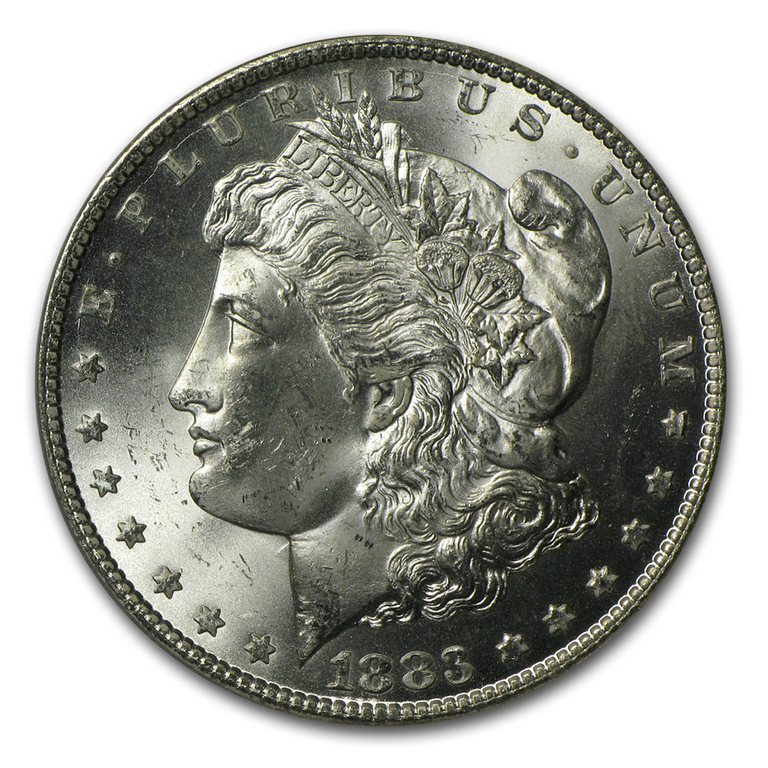 1883-CC Morgan Dollar - MS-64+ Plus PCGS