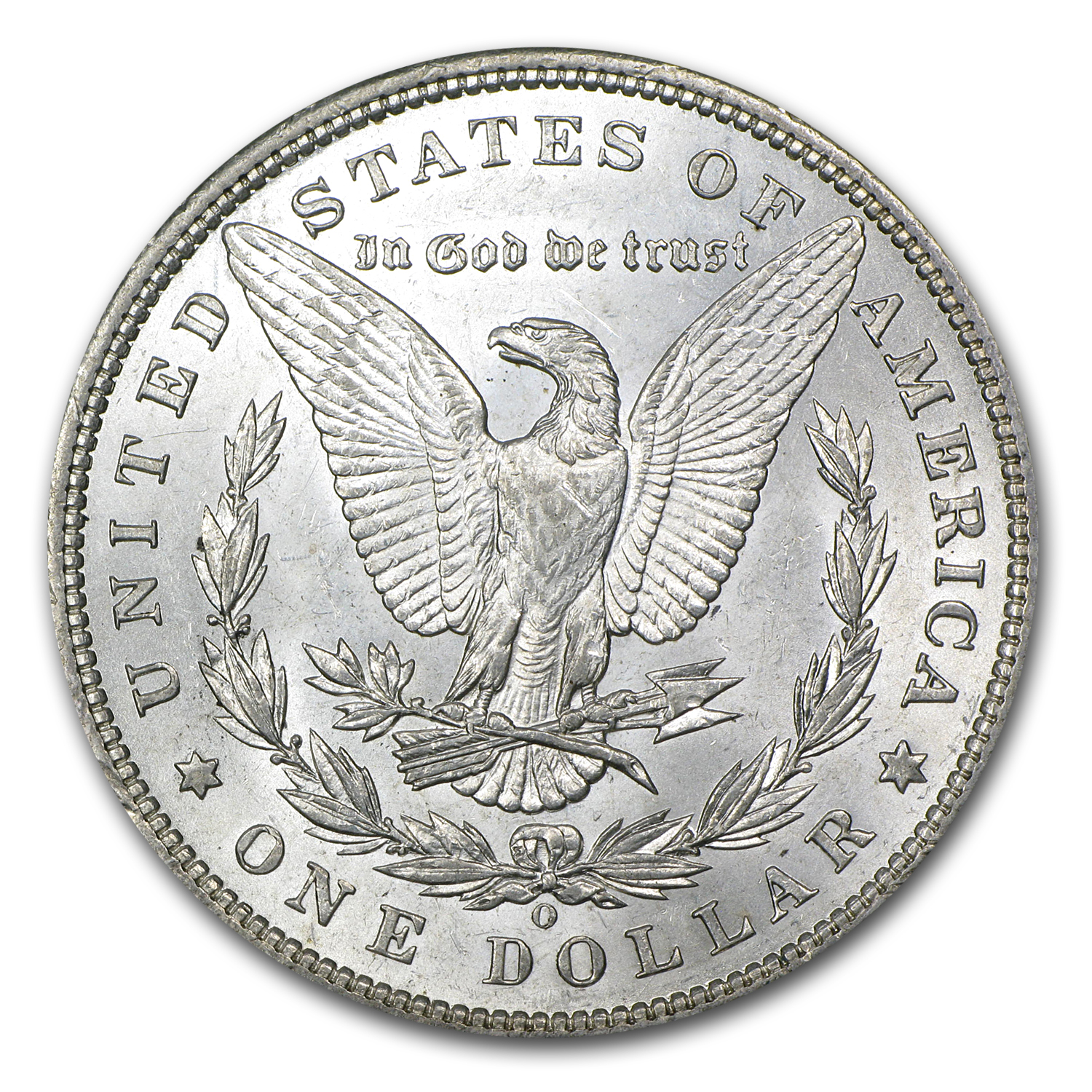 1897-O Morgan Dollar BU