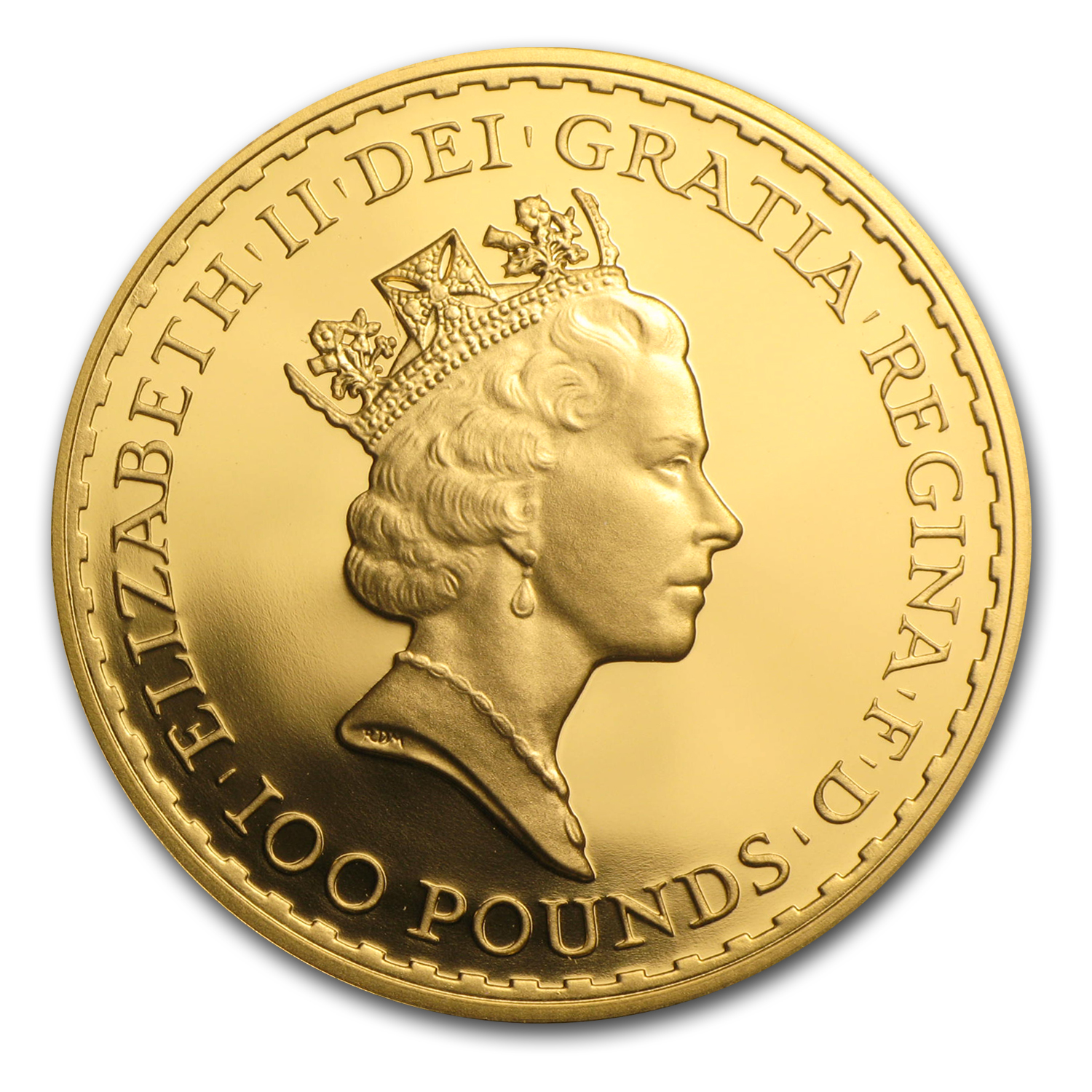 1993 1 oz Proof Gold Britannia