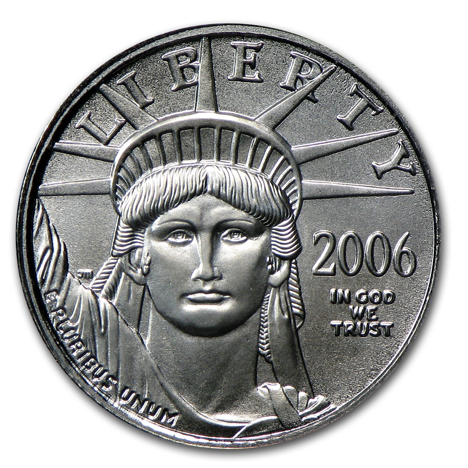 2006 1/10 oz Platinum American Eagle BU