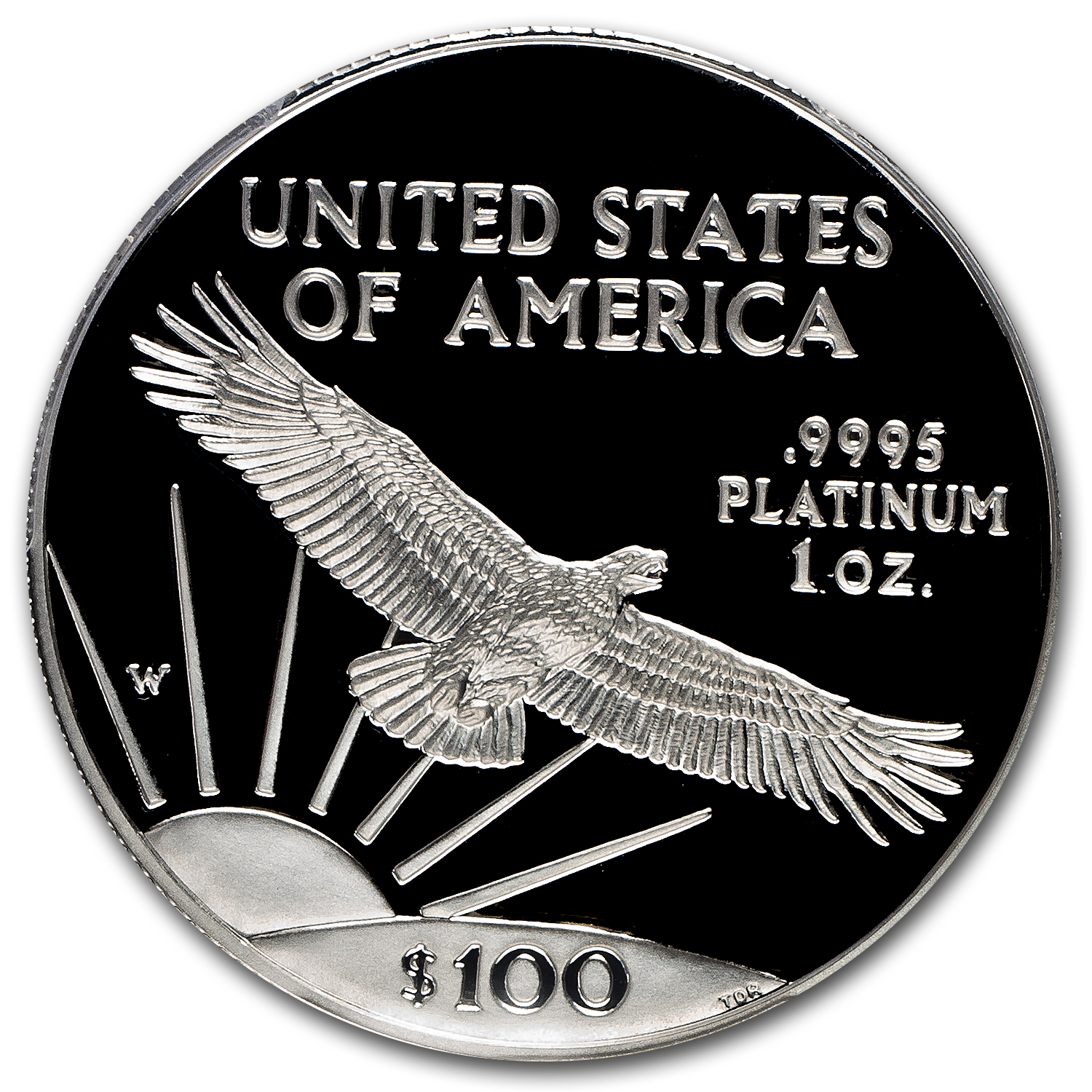 1997-W 1 oz Proof Platinum American Eagle PR-70 PCGS