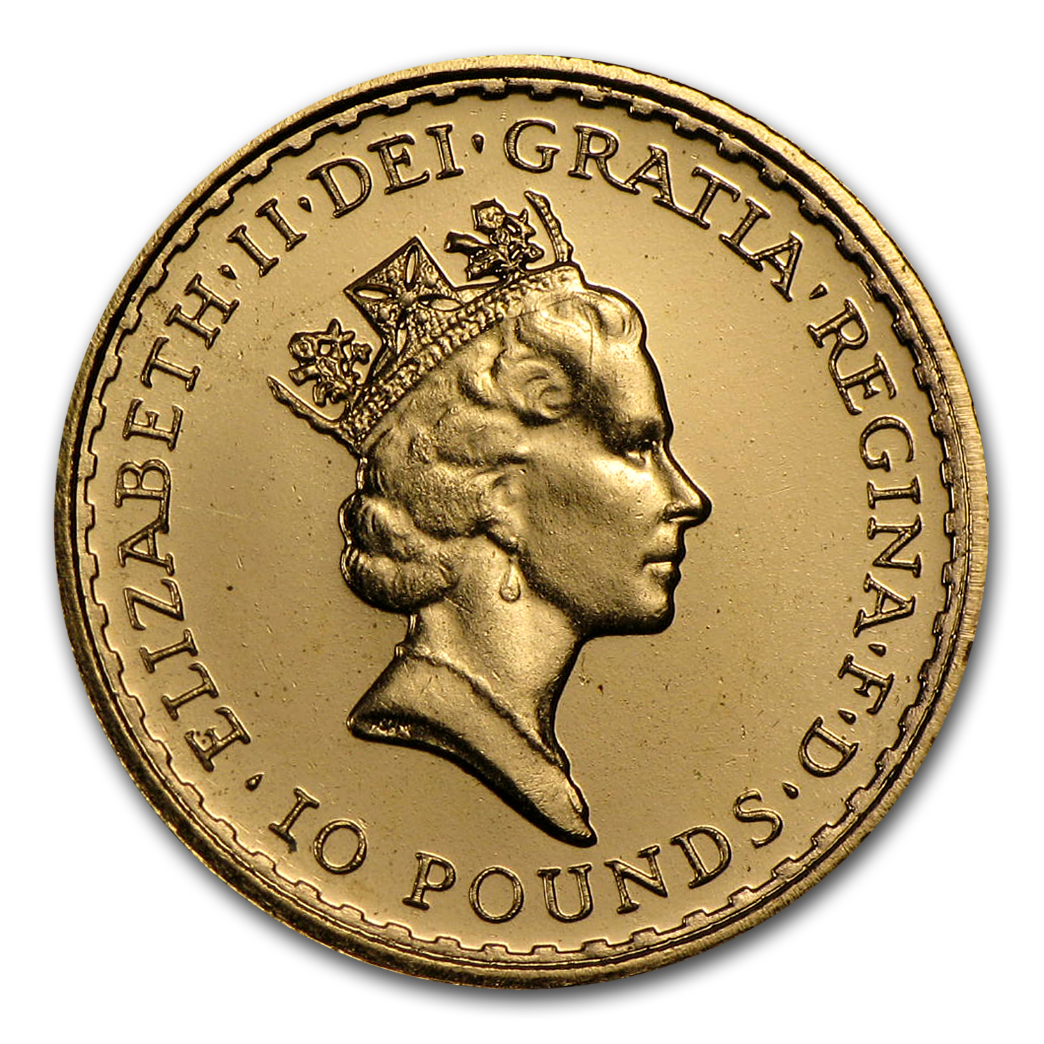 1987 Great Britain 1/10 oz Proof Gold Britannia
