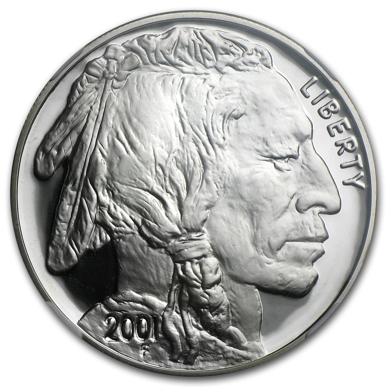 2001-P Buffalo $1 Silver Commemorative PF-70 NGC