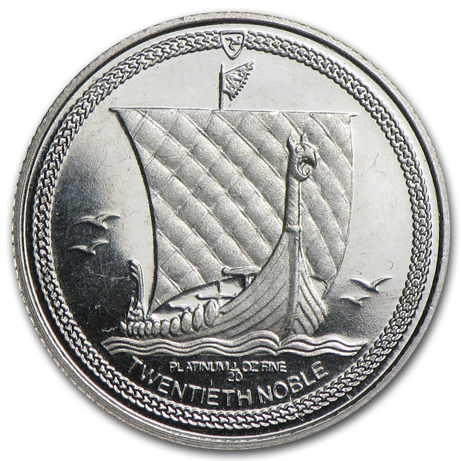 Isle of Man 1/20 oz Platinum Noble Proof