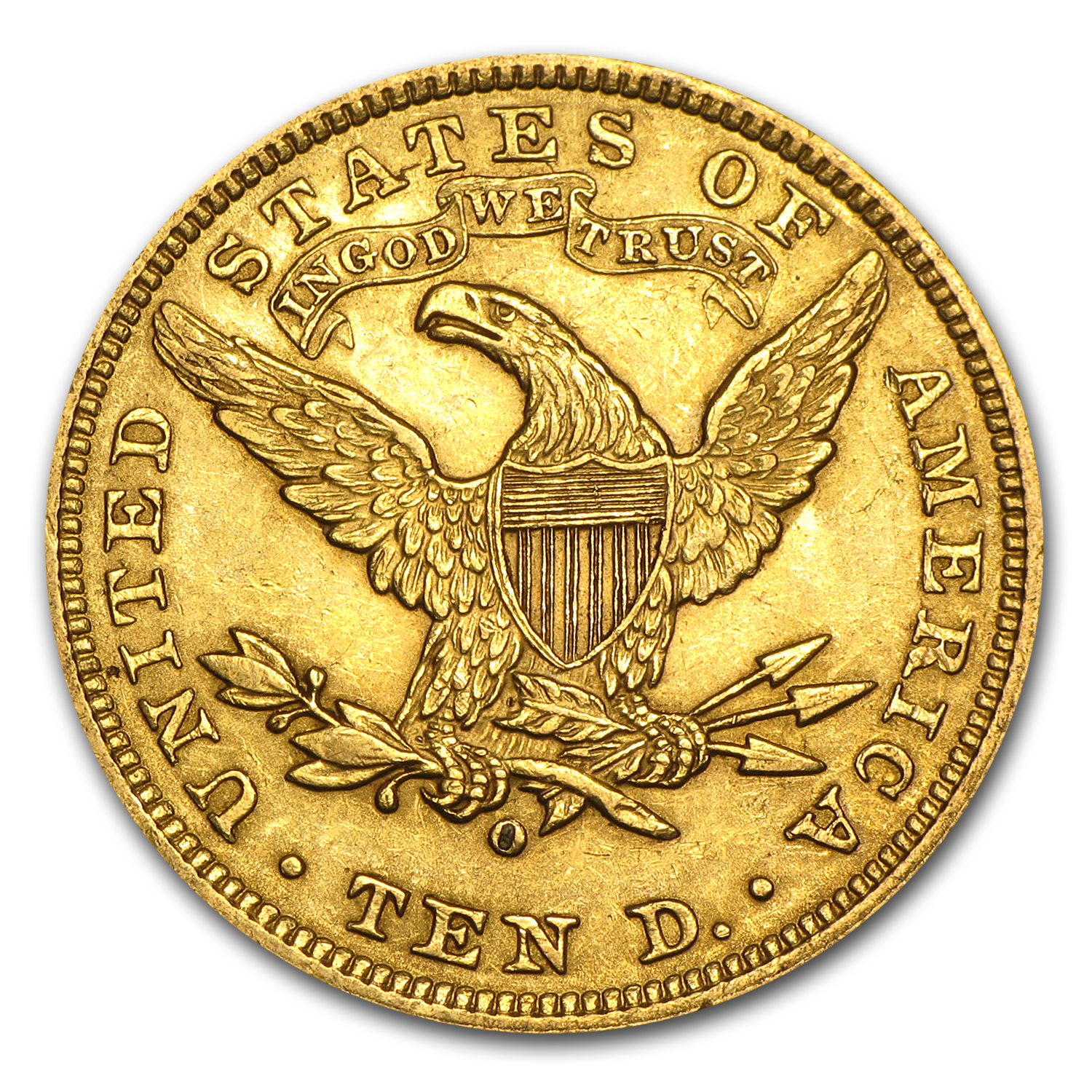 1906-O $10 Liberty Gold Eagle AU