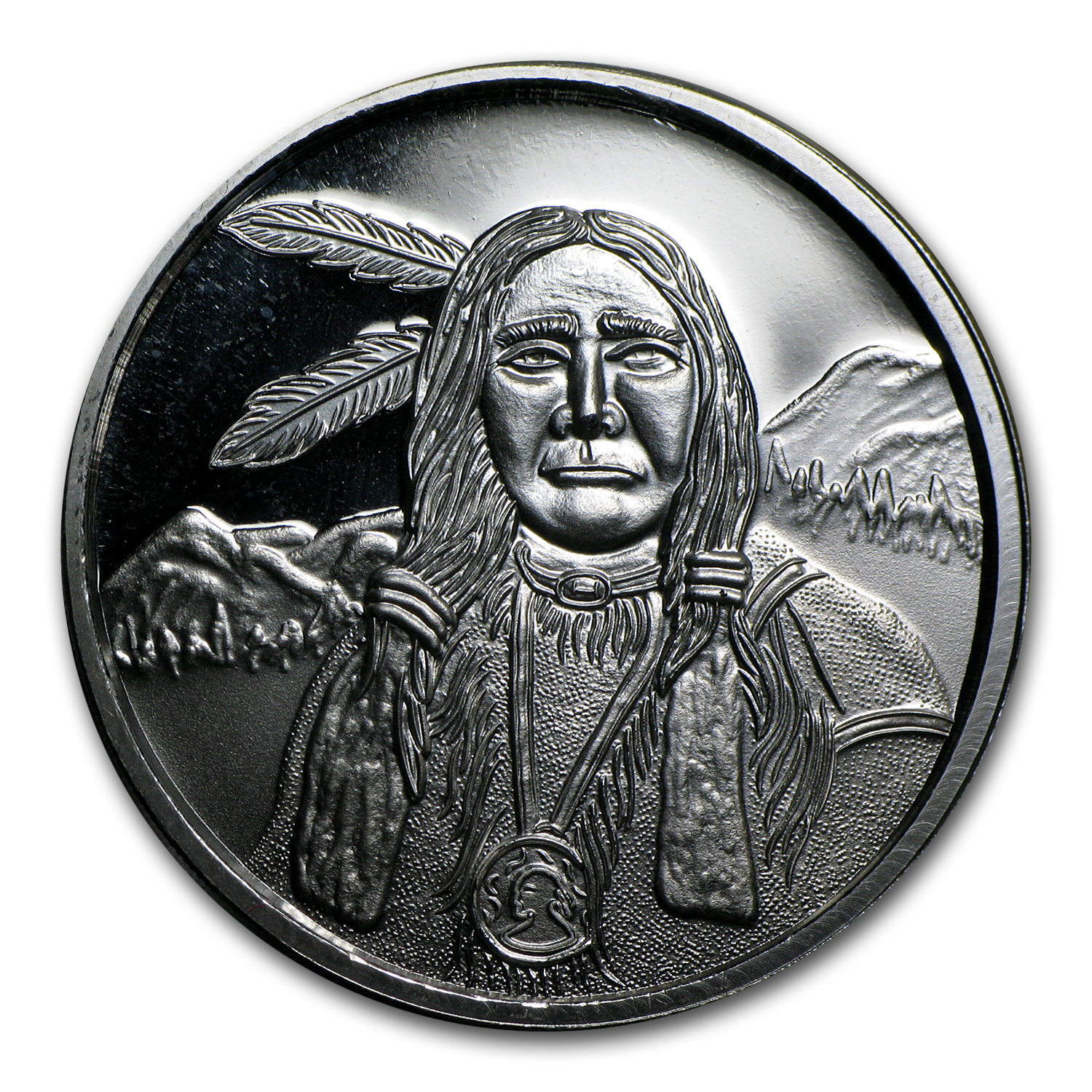 (5) 1 oz Silver Round - American Indian Collection (5 pc)