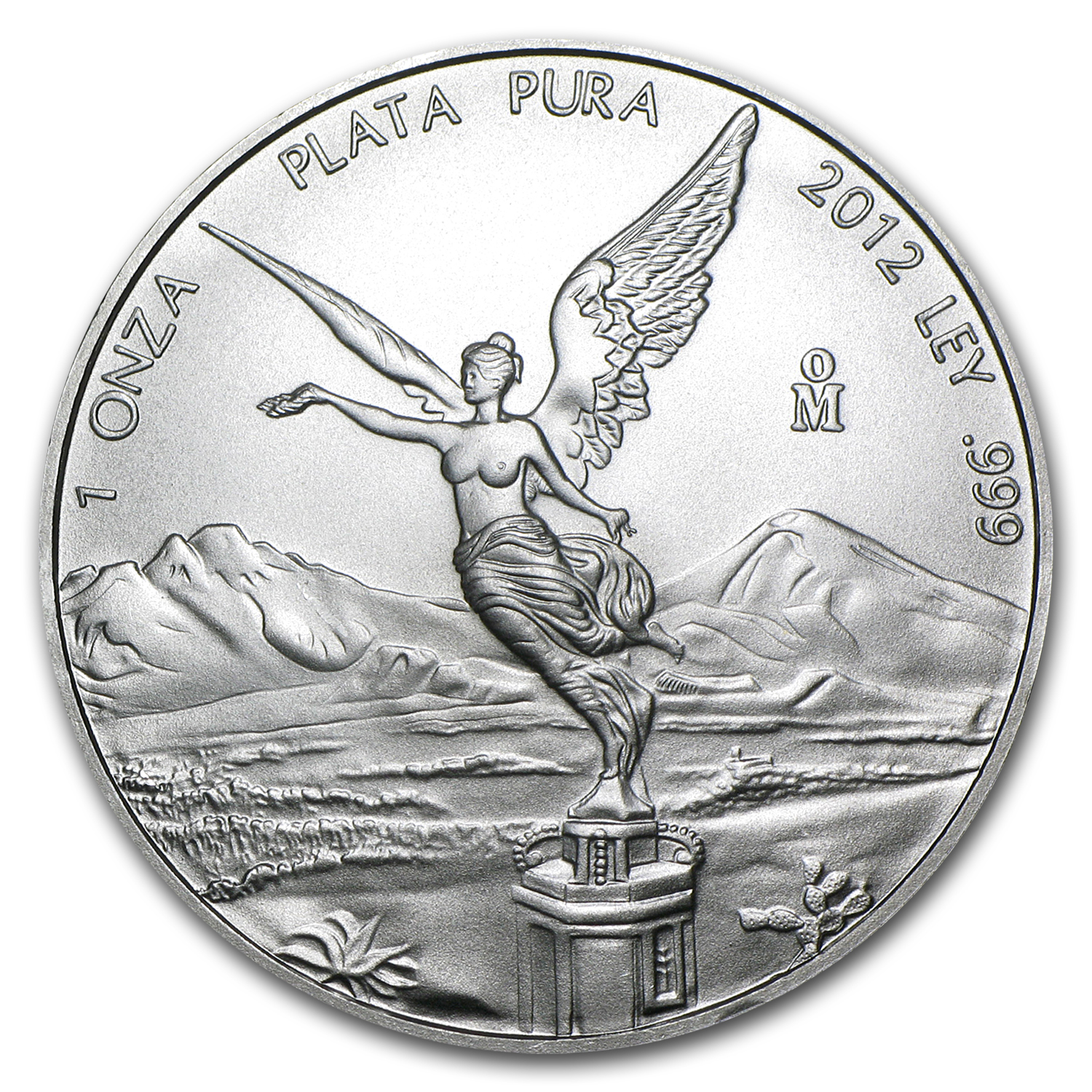 2012 1 oz Silver Mexican Libertad (Brilliant Uncirculated)