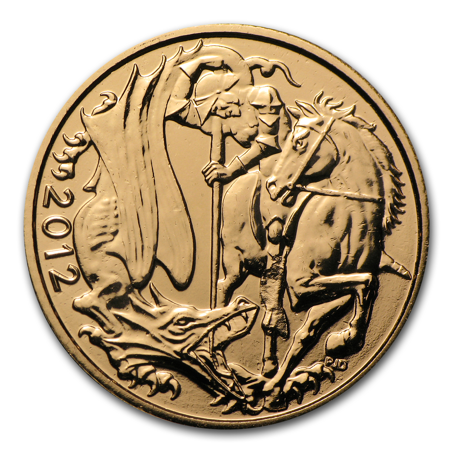 2012 Great Britain Gold Sovereign BU