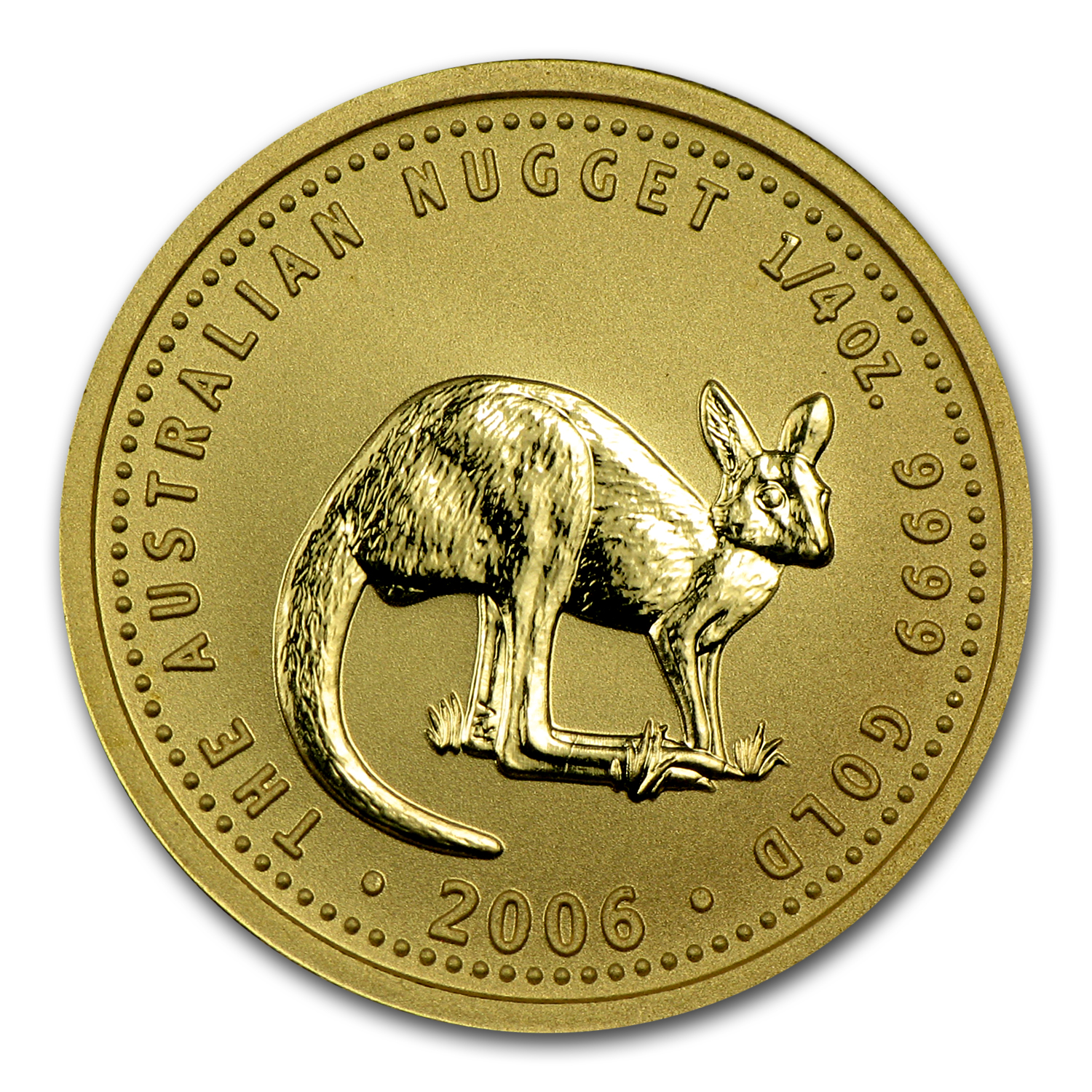 2006 1/4 oz Australian Gold Nugget