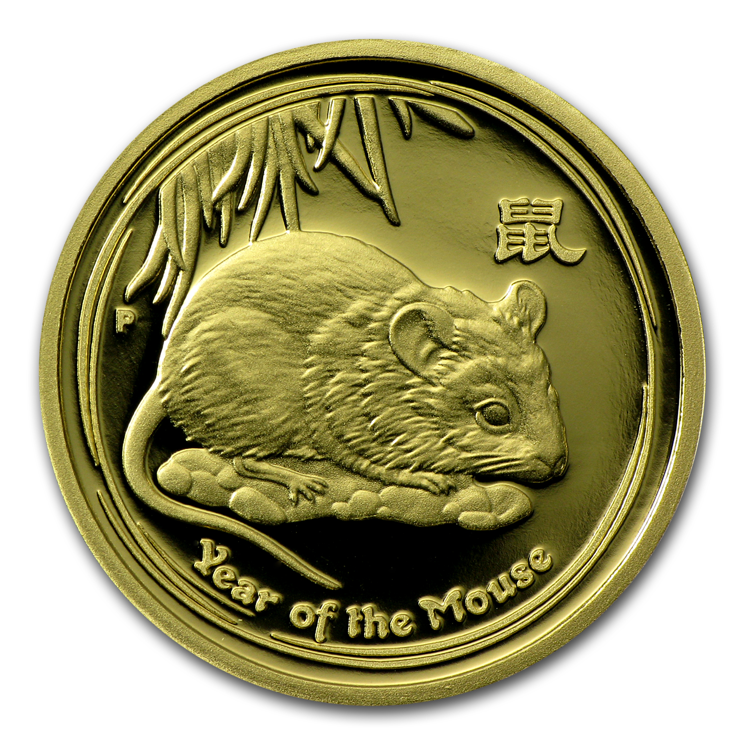 2008 3-Coin Proof Gold Lunar Year of the Mouse (Series II)