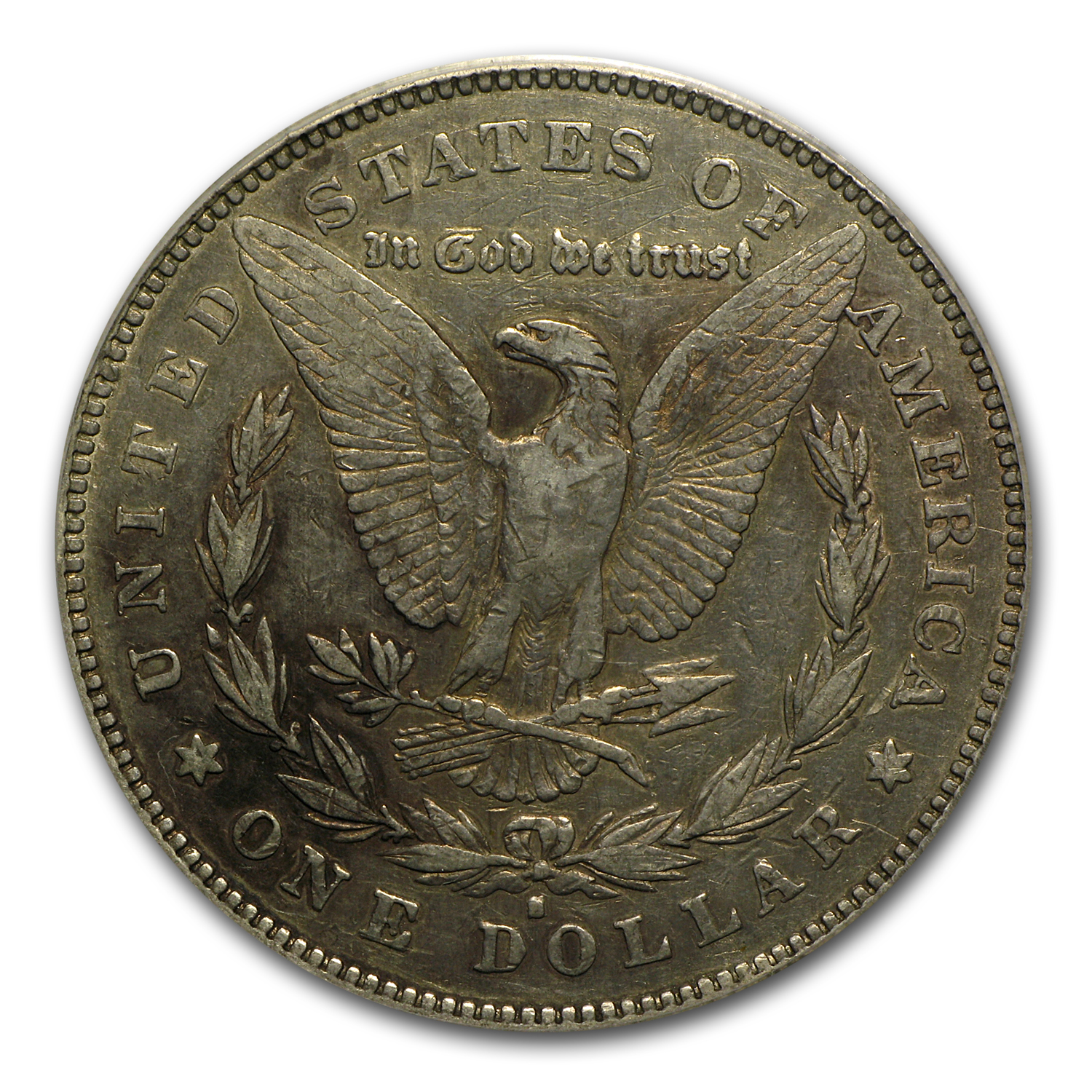 1878-S Morgan Dollar XF-40 PCGS (VAM-57, Long Nock Rev, Top-100)