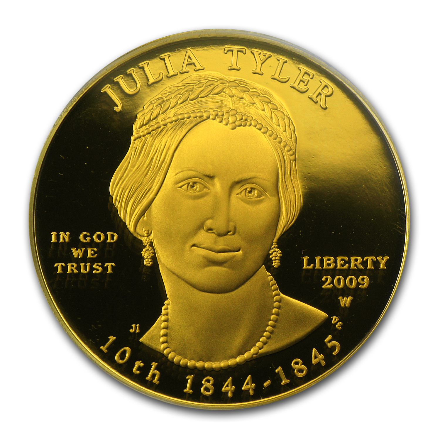 2009-W 1/2 oz Proof Gold Julia Tyler PR-70 PCGS