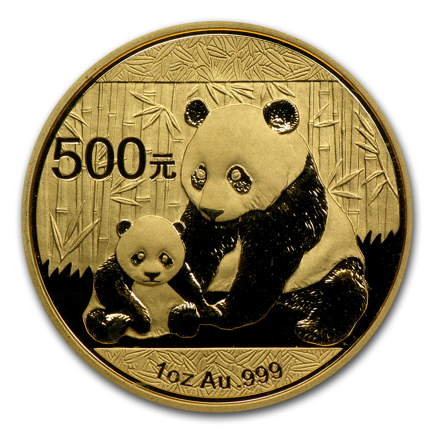 2012 China 1 oz Gold Panda MS-70 PCGS