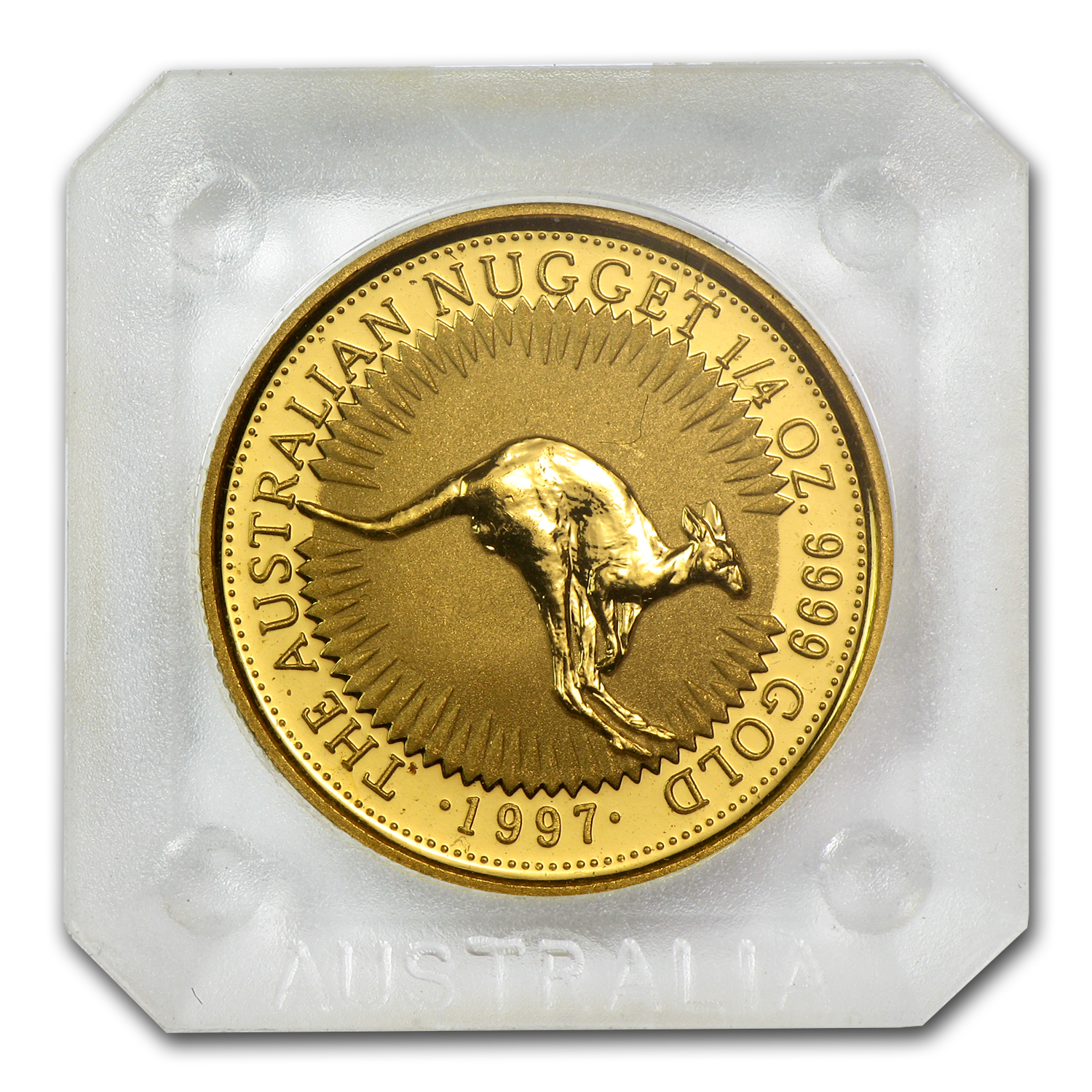 1997 1/4 oz Australian Gold Nugget