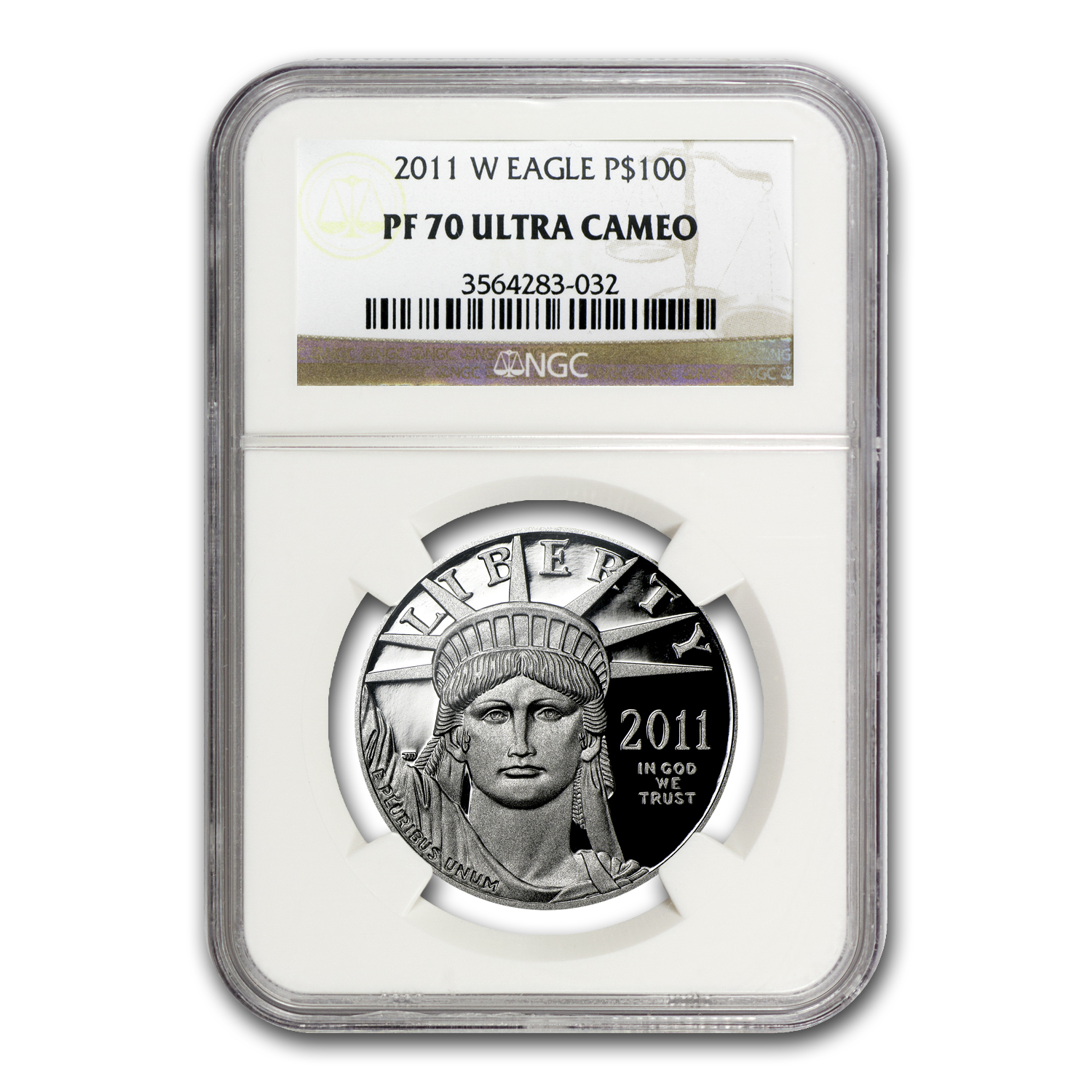 2011-W 1 oz Proof Platinum American Eagle PF-70 NGC