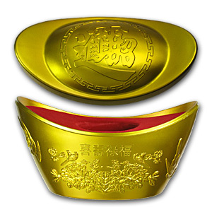2012 Niue 1 oz Silver $2 Year of the Dragon Proof (Gilded)