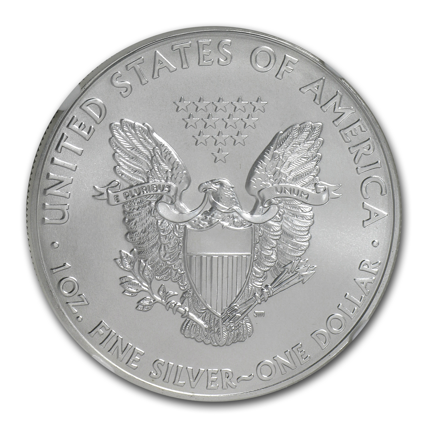 2011 (W) Silver American Eagle MS-69 NGC (West Point Star Label)