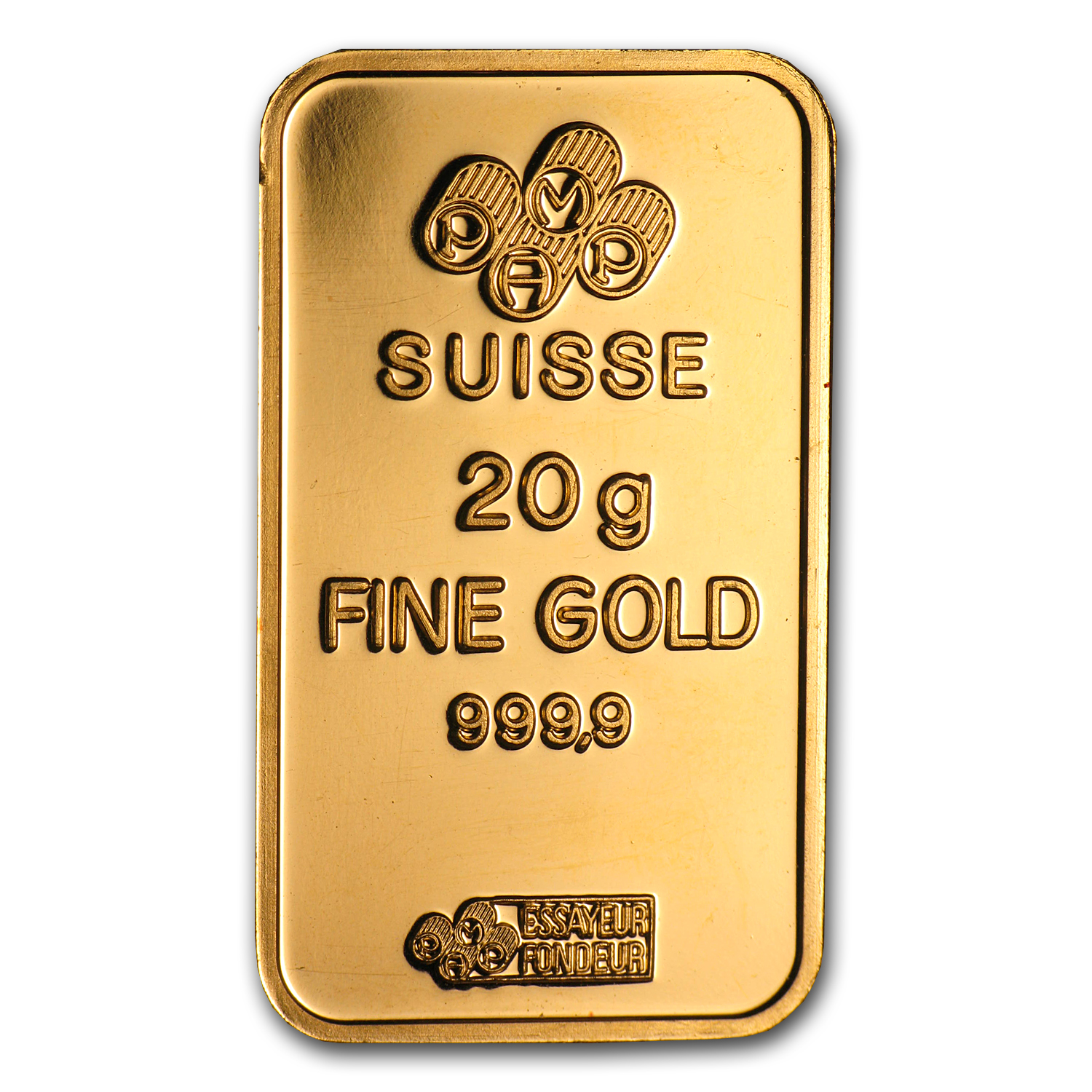 20 gram Gold Bars - Pamp Suisse (No Assay)
