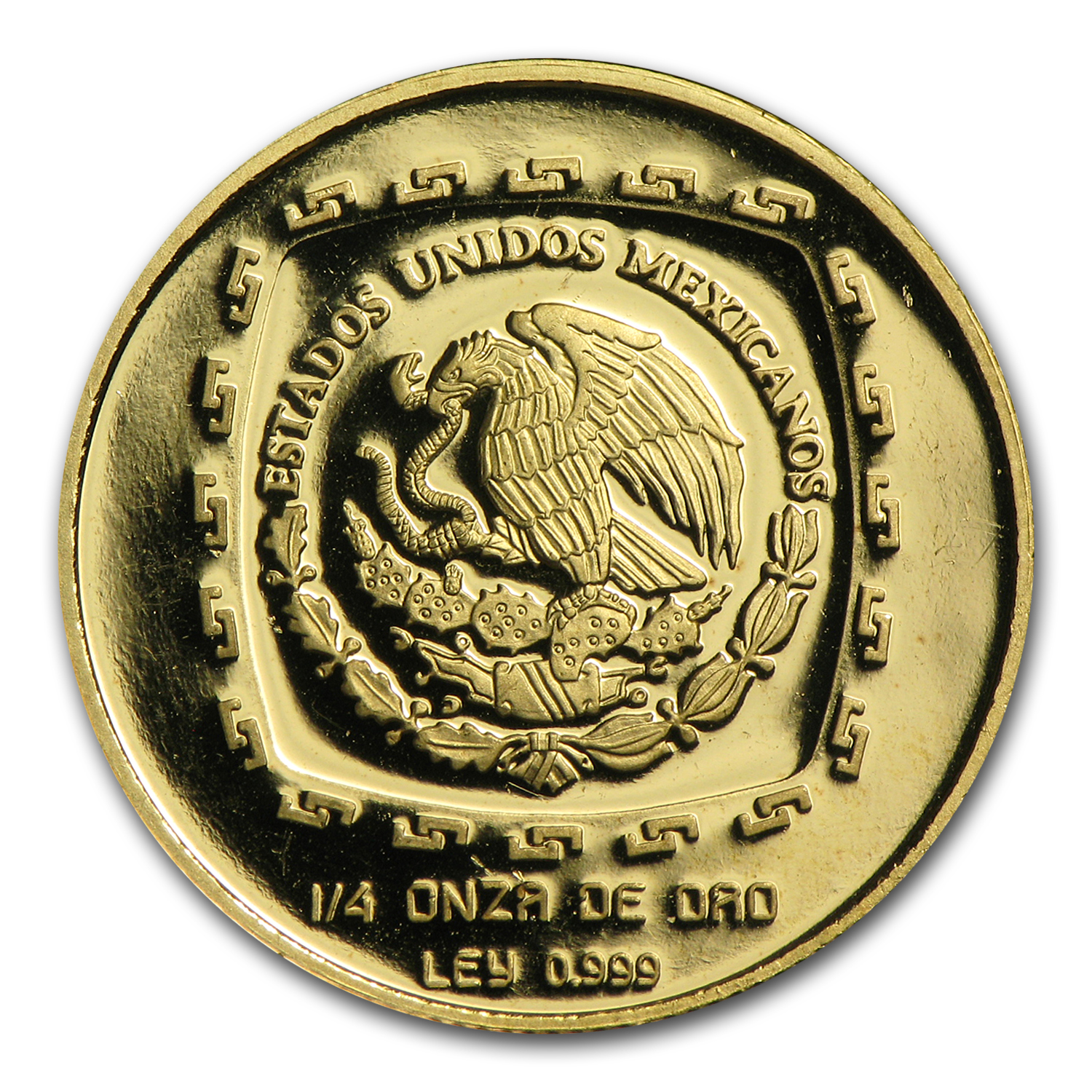 1996 Mexico 25 Pesos Gold Proof Sacerdote