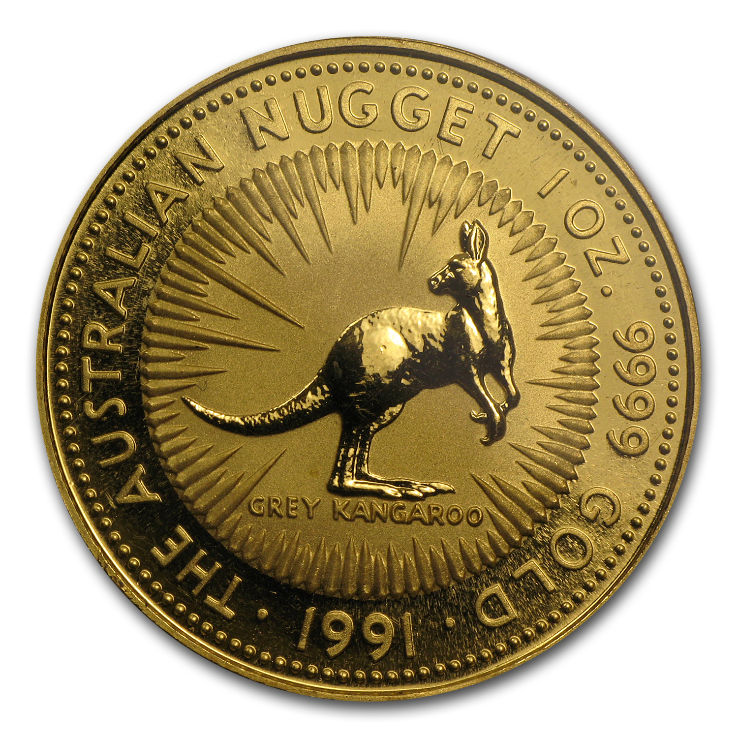 1991 1 oz Australian Gold Nugget