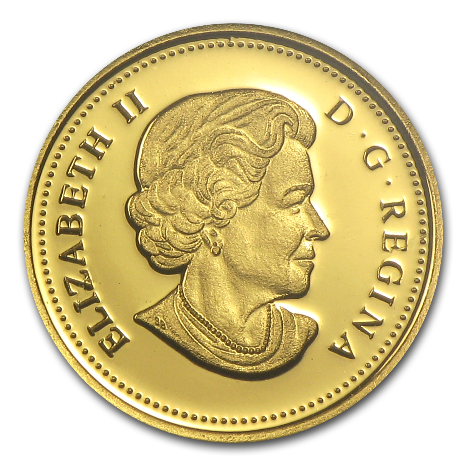 2011 Canada 1/2 Gram Proof Gold $0.25 Cougar (w/Box & COA)