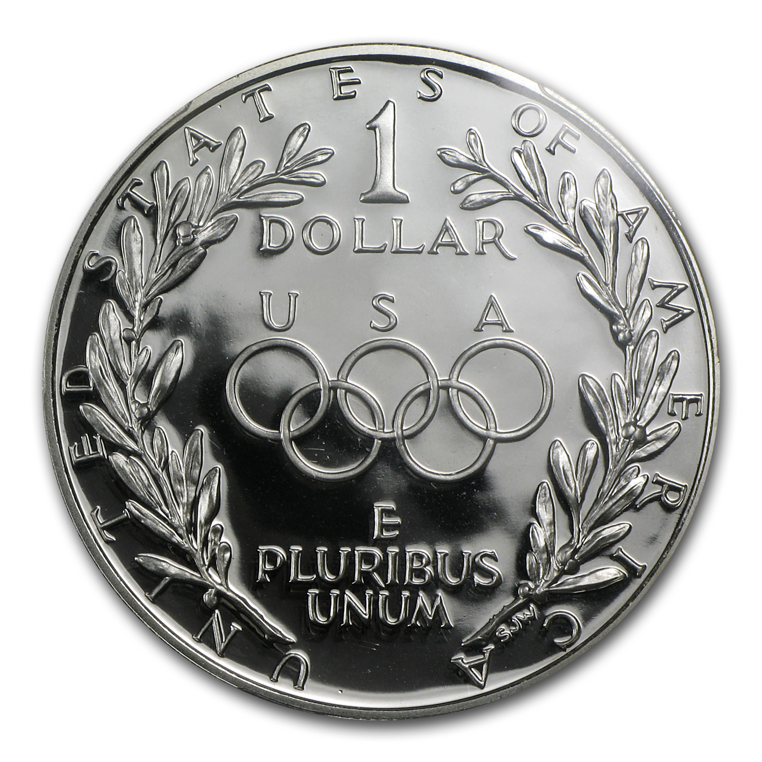 1988-S Olympic $1 Silver Commemorative PR-70 PCGS