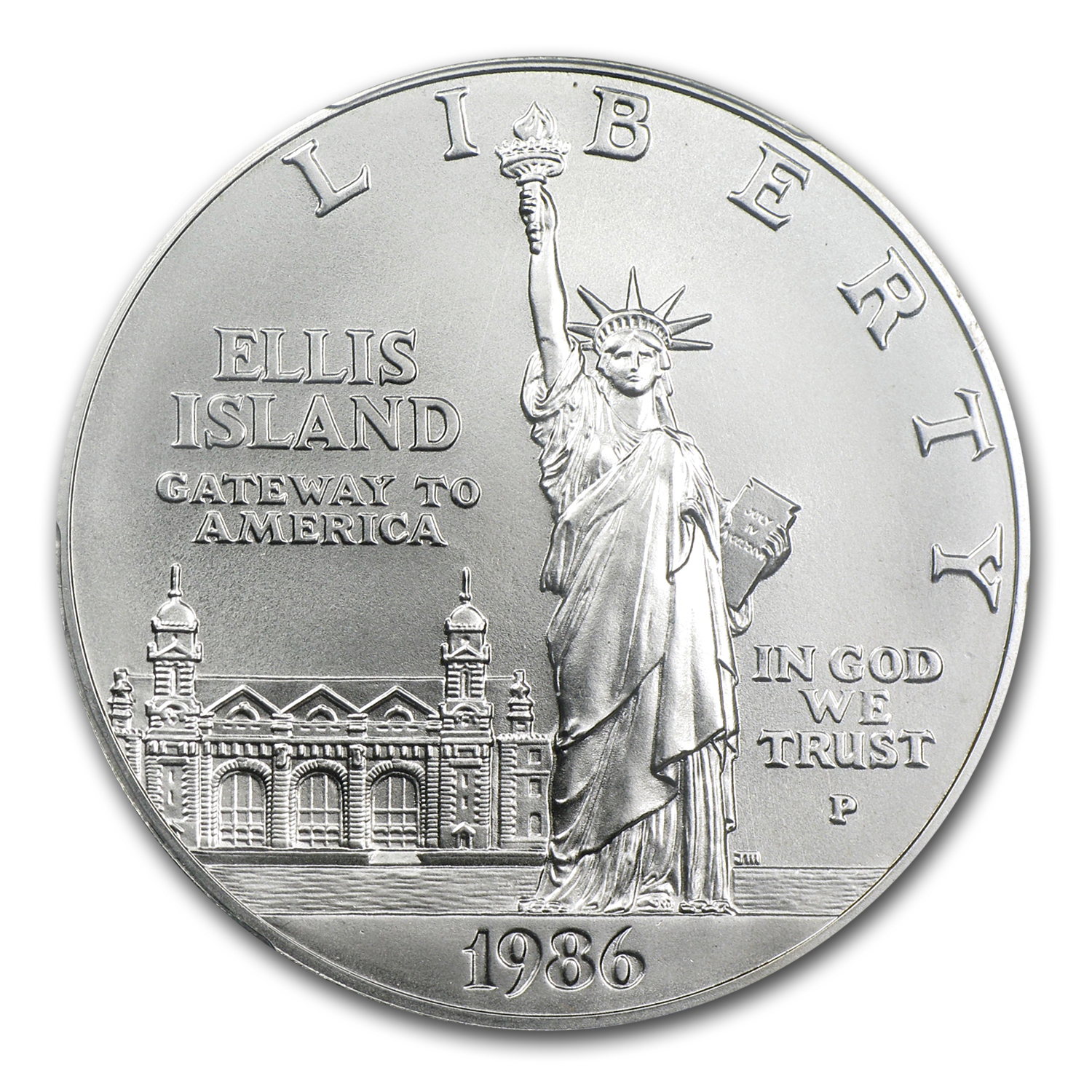 1986-P Statue of Liberty $1 Silver Commemorative - MS-70 PCGS
