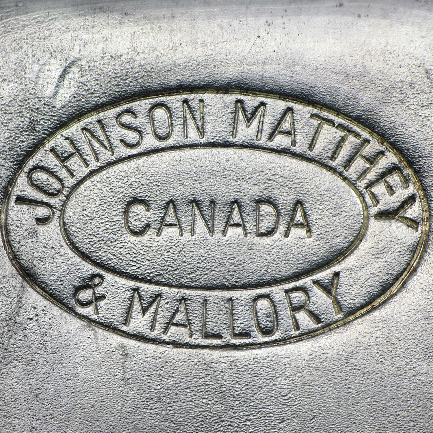 1 kilo Silver Bar - Johnson Matthey & Mallory (w/o stamp)