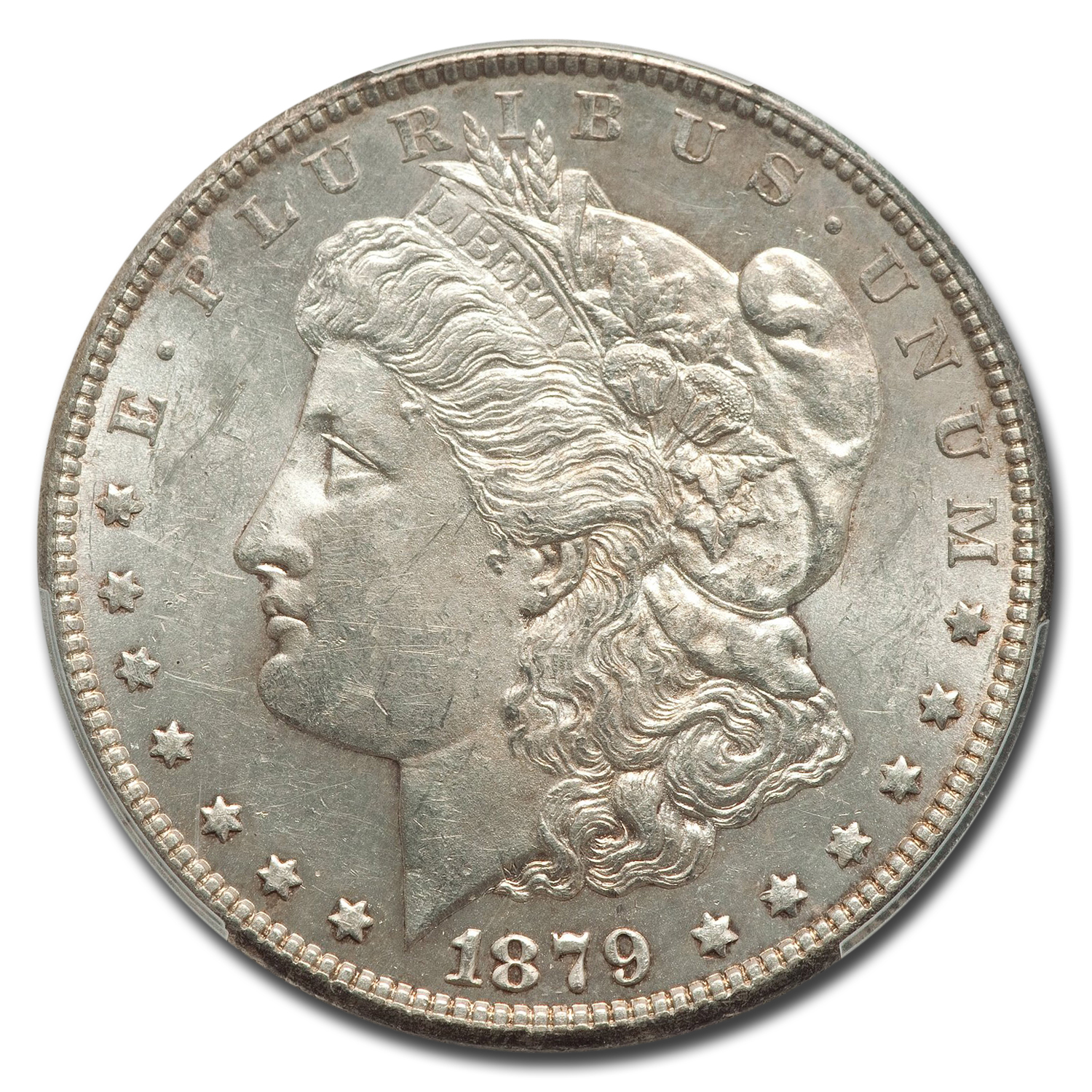1879-S Morgan Dollar Rev of 78 MS-62 PCGS