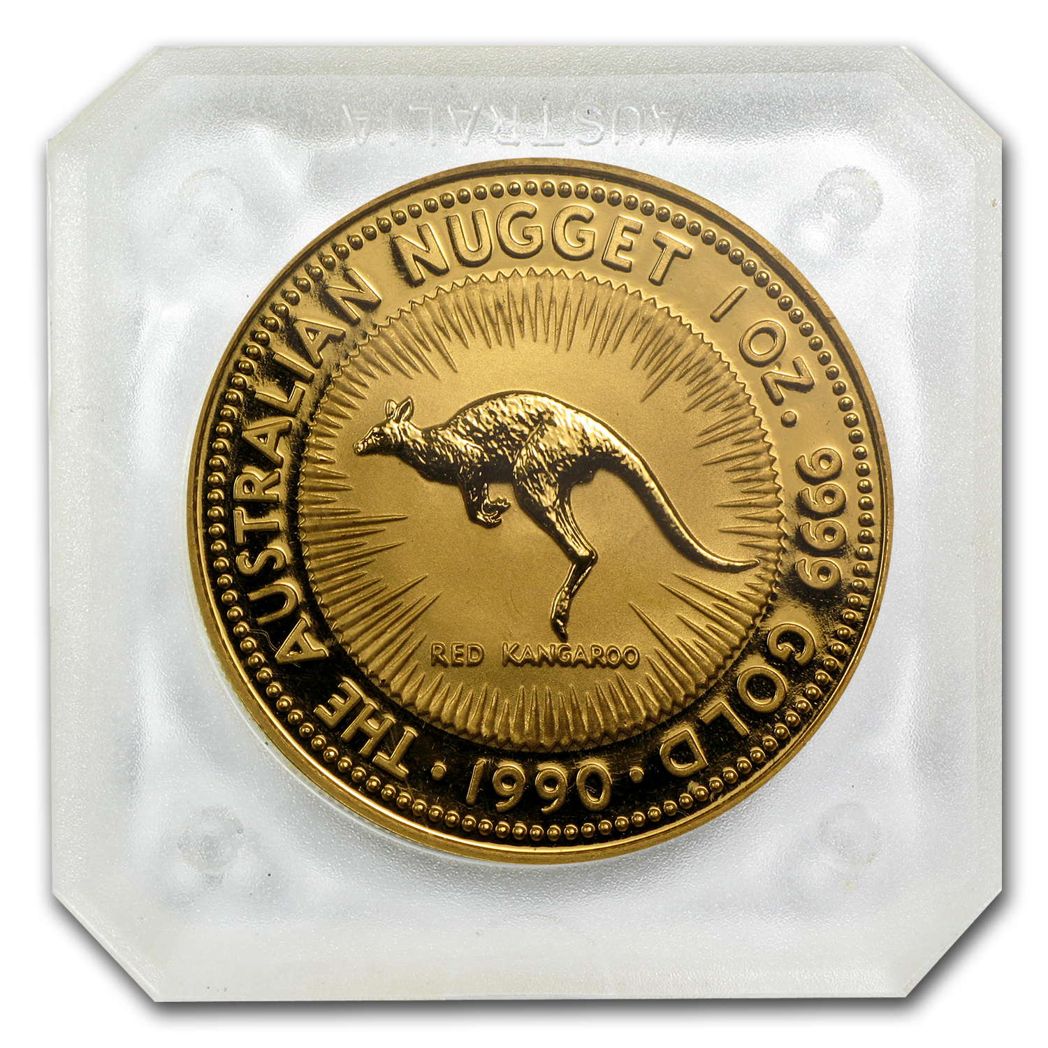 1990 1 oz Australian Gold Nugget