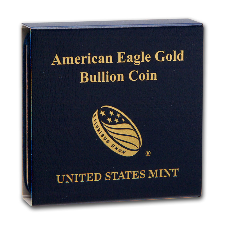 Empty 1 oz Gold American Eagle U.S. Mint Box
