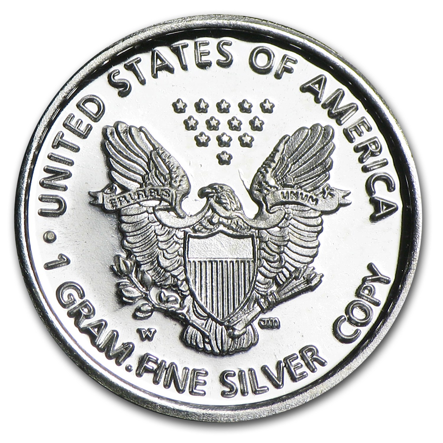 1 gram Silver Rounds - Mini-American Eagle