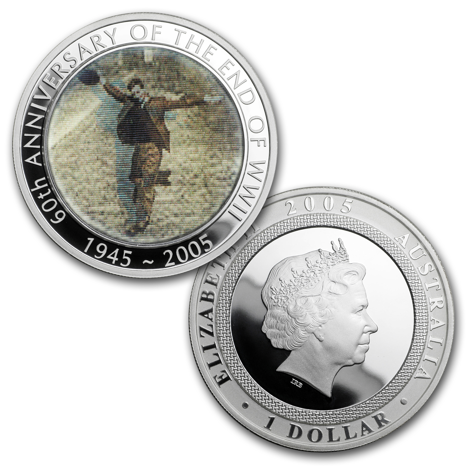 2005 Gold & Silver 60th Anniversary of the End of WWII Set