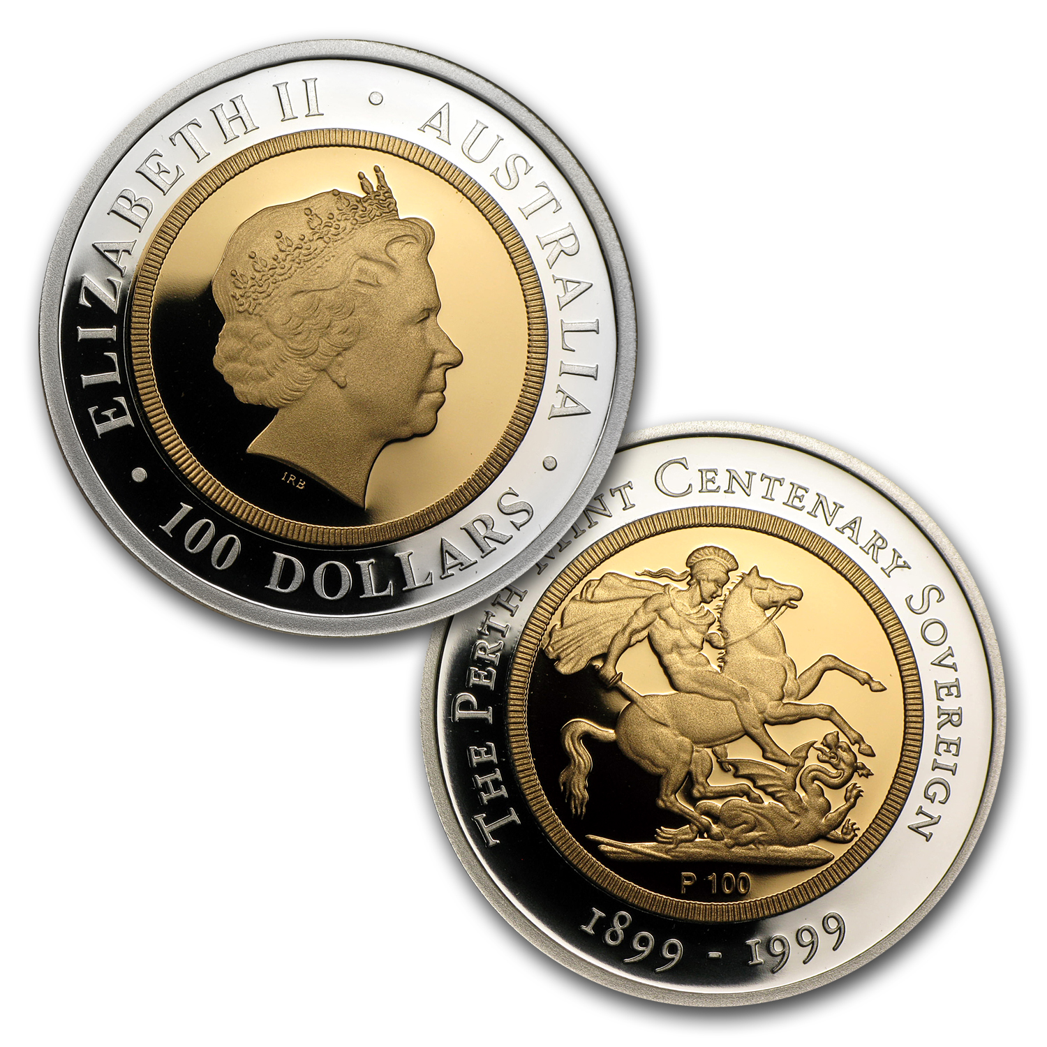 1999 Sovereign 100th Anniversary Proof Set